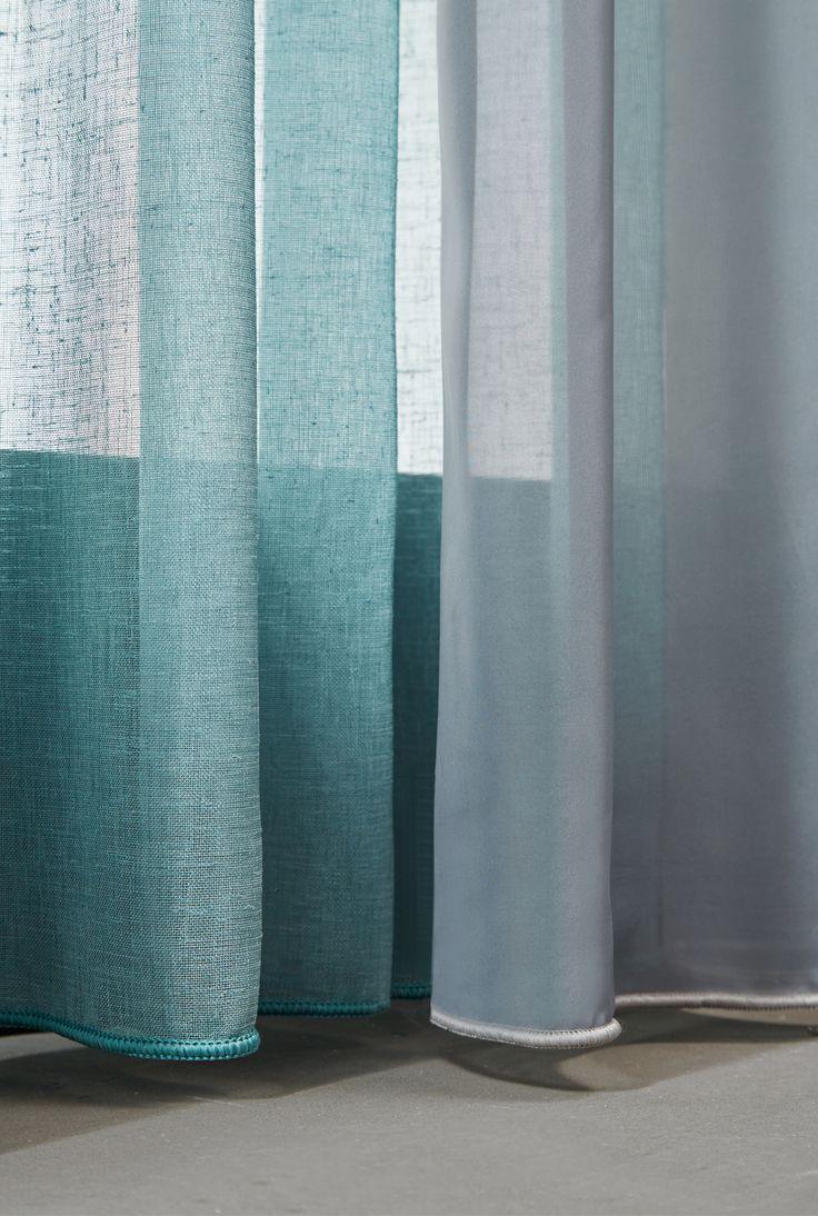 Rustgevend... filter het licht met transparante stof Maran en transparante voile | A House of Happiness