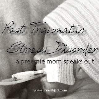 Post Traumatic Stress Disorder - a preemie mom speaks out... This woman wrote exactly how I feel!