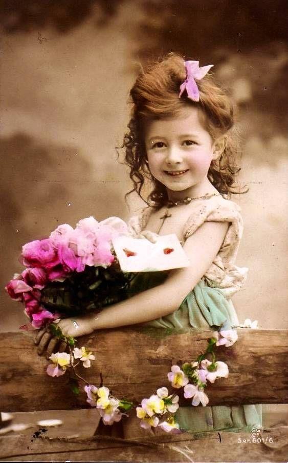 Фото ребенка на открытку