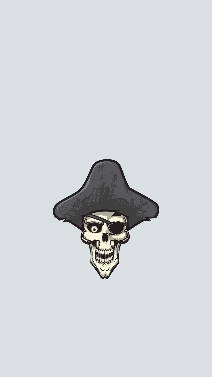 Wallpaper head, minimalism, feathers, skeleton, beard, weapons ...