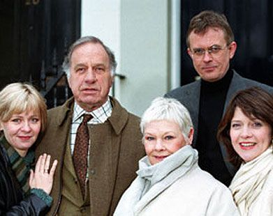 "The cast of ""As Time Goes By""... especially Dame Judi Dench and Geoffrey Palmer."