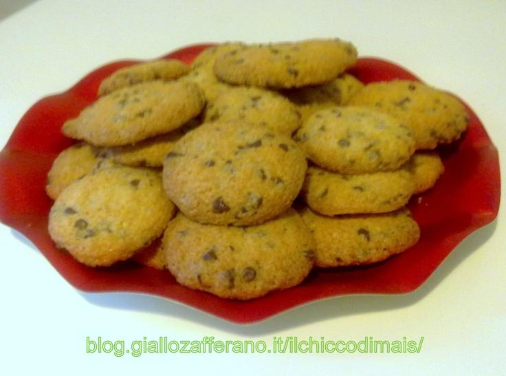 Cookies al cioccolato senza glutine  http://blog.giallozafferano.it/ilchiccodimais/cookie-al-cioccolato/