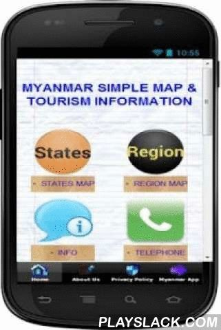 Simple Myanmar Map Offline  Android App - playslack.com , Get Myanmar map application here. It is a simple but POWERFUL and informational map of Myanmar that can be view offline easily. You can also zoom in to view it in details. It shows map of every sta