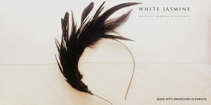 Headband designed and handmade by WhiteJasmine.pl