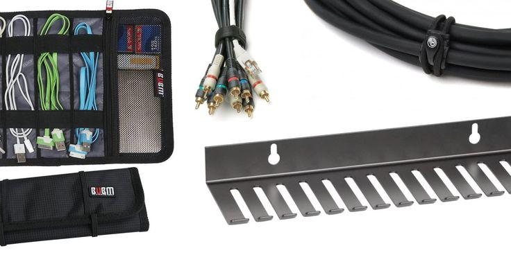 Las mejores soluciones de gestión de cables para tu Mac & home studio/oficina