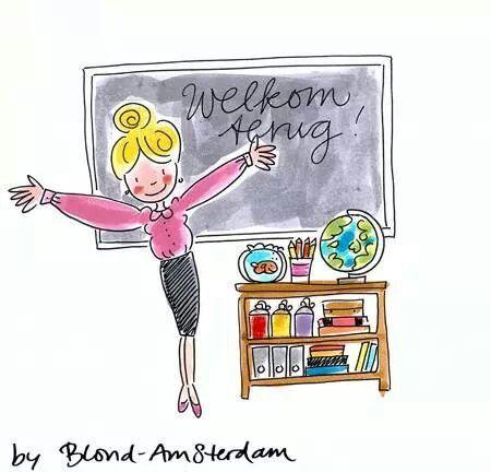 Welkom terug (op school) - Blond Amsterdam