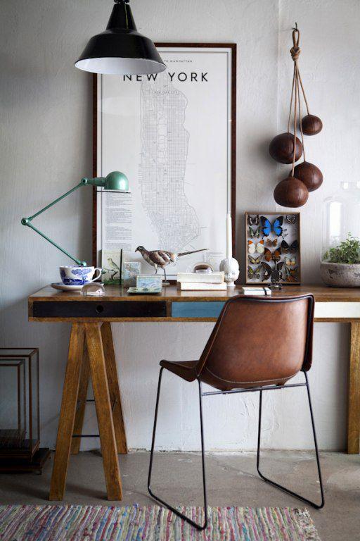 Minimal Bohemian Workspaces via Sycamore Street Press