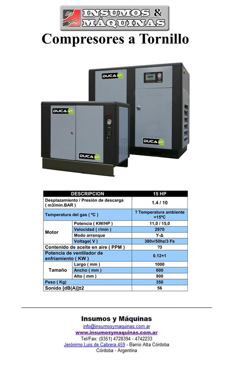 Catalogo de Compresores a Tornillo | Compresores a Tornillo FEMA