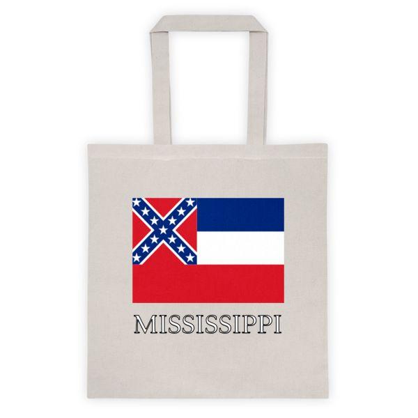 Mississippi State Flag Tote