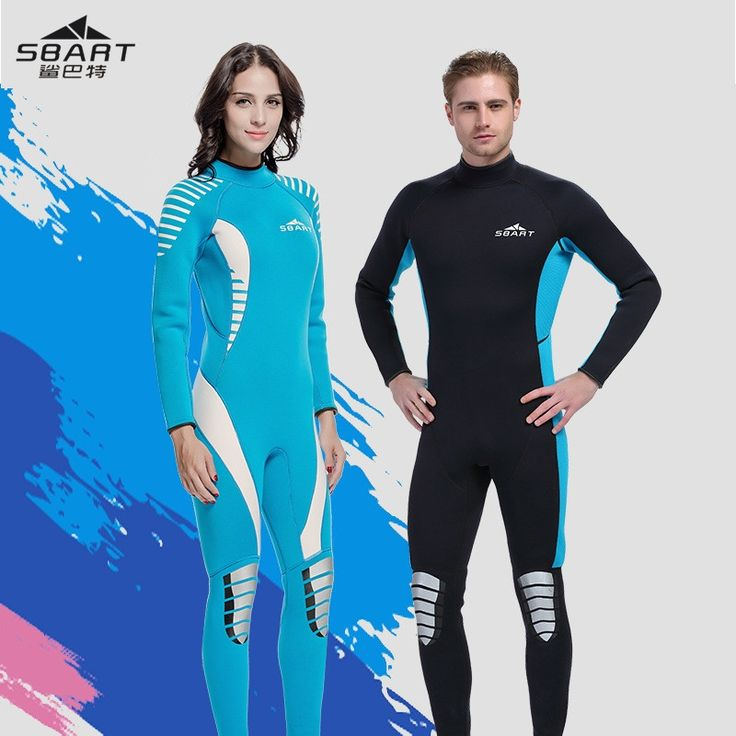 73.59$  Watch here - Sbart 3MM Neoprene Airtight Retro Wetsuits Men Women Long Sleeve Suits Jellyfish Snorkeling Scuba Diving Suit Wetsuit  #buychinaproducts