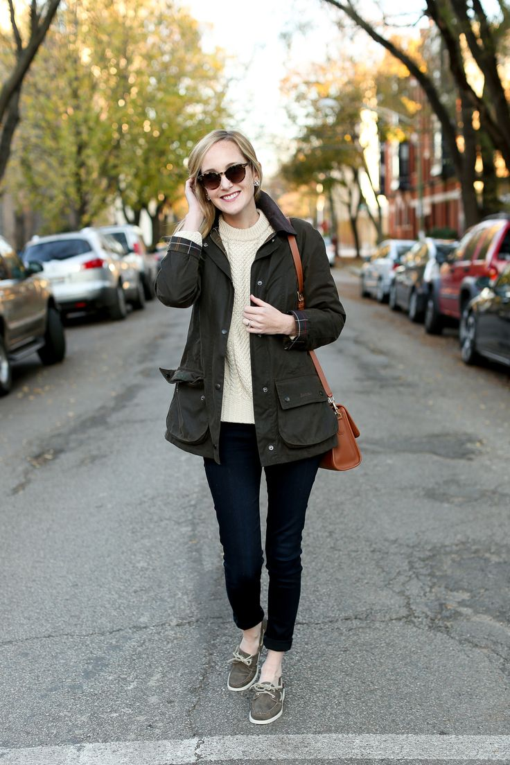Boat Shoes in December – Kelly in the City
