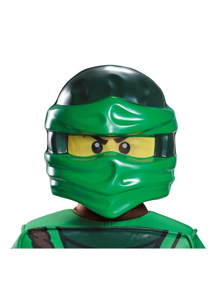 Lloyd Ninjago™ Lego™ mask for kids #Lego #Ninjago #NexoKnights #CostumesForKids #BestChristmasGift #Christmas2016 #TopGift