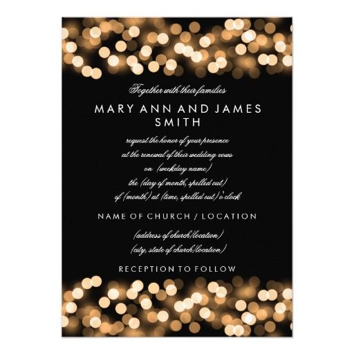 289 best Hollywood Wedding Invitations images on Pinterest | Wedding ...