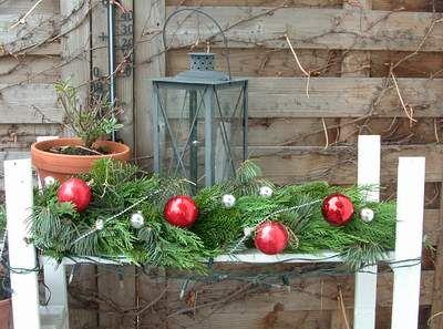 Christmas garland /Tannengirlande aus echter tanne