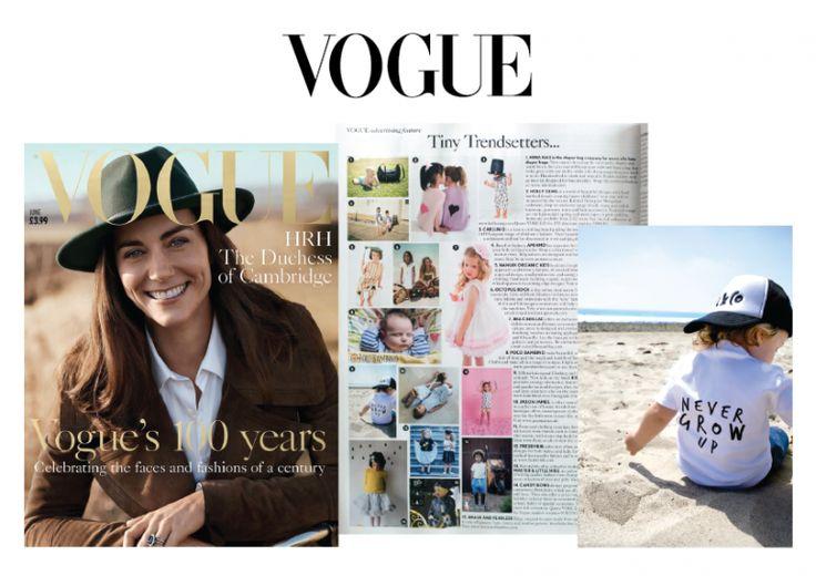 As seen in British Vogue 100 Magazine | June 2016 Edition
