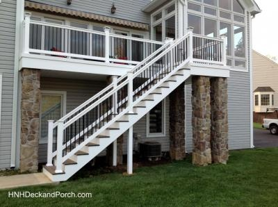 Best 35 Best Hnh Deck Steps Staircases Images On Pinterest 640 x 480