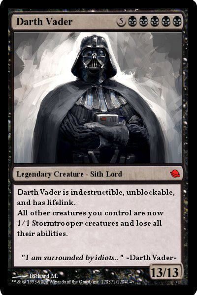 When Quot Magic The Gathering Quot And Quot Star Wars Quot Collide