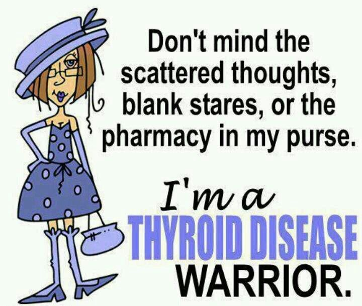 Thyroid Disease Warrior