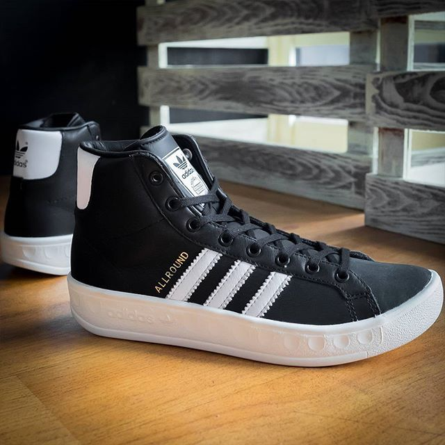 arrives good quality get new Adidas Originals Allround Hi: Black… – Sports