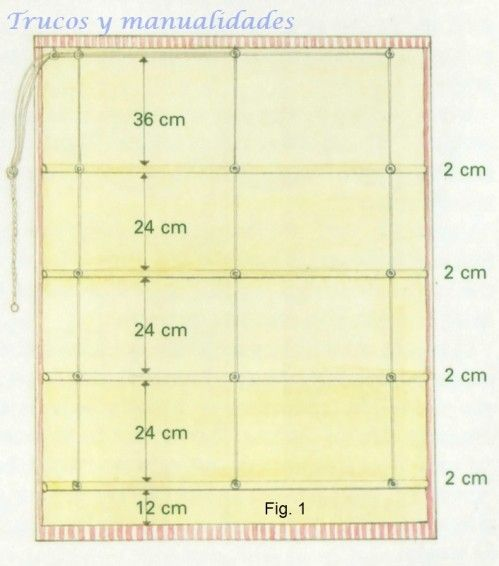 M s de 25 ideas incre bles sobre cortinas estores en - Como hacer estores ...