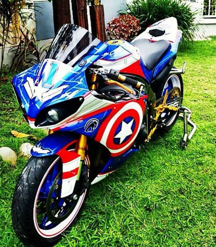 1000 Ideas About Captain America Bike On Pinterest