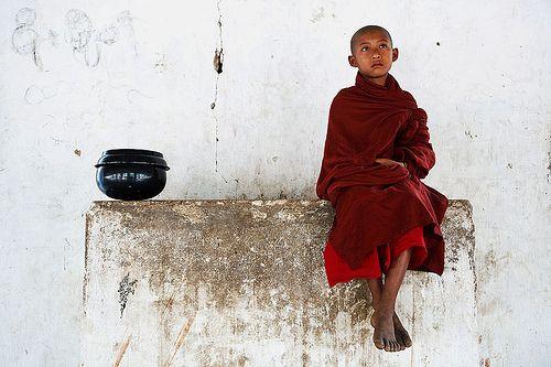Young Monk - Nyaung U, Myanmar