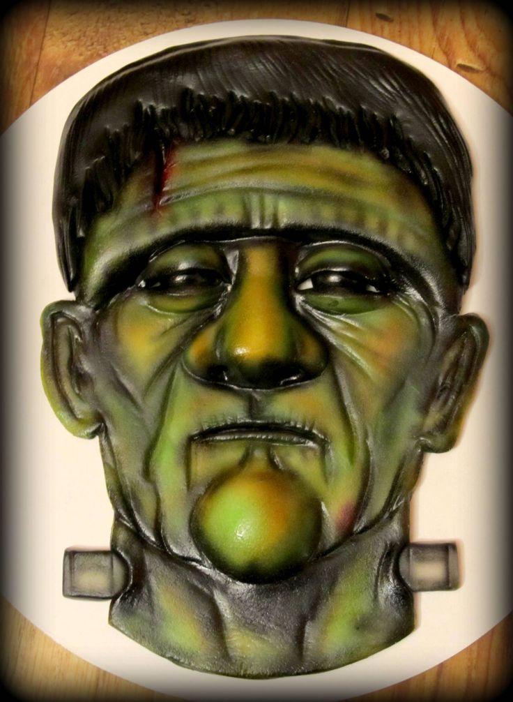 Airbrush kurz- 3D obličej