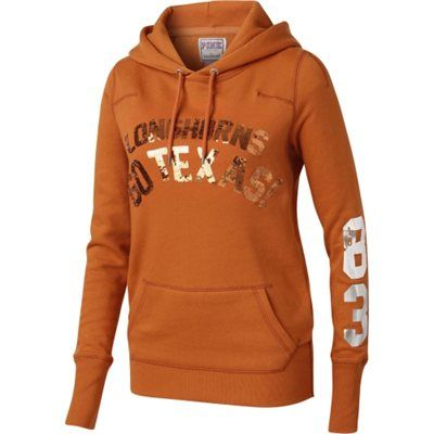 Texas Longhorns Victorias Secret PINK Pullover Hoodie