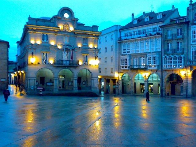 Plaza mayor Ourense
