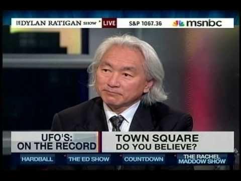 Dr. Michio Kaku talks about Leslie Kean's book on MSNBC's Dylan Ratigan Show