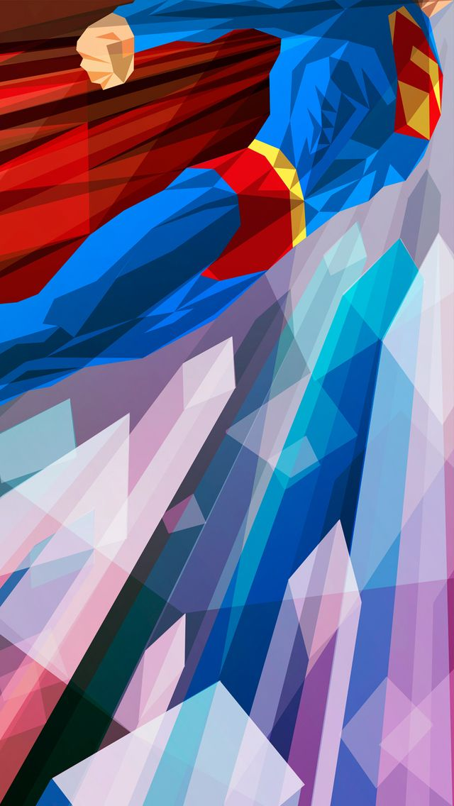 Superman iPhone 5 Wallpaper