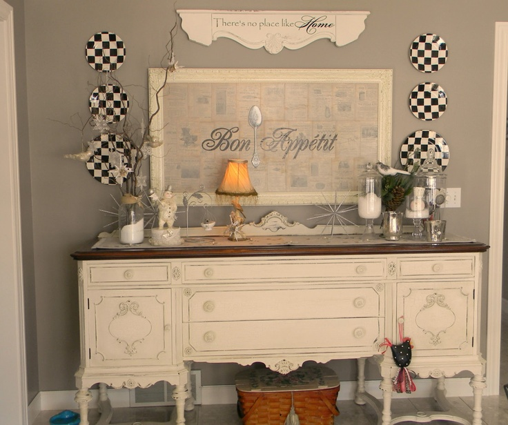 Forever Decorating!: My New Gray Dining Room... I Really Like This Part 83