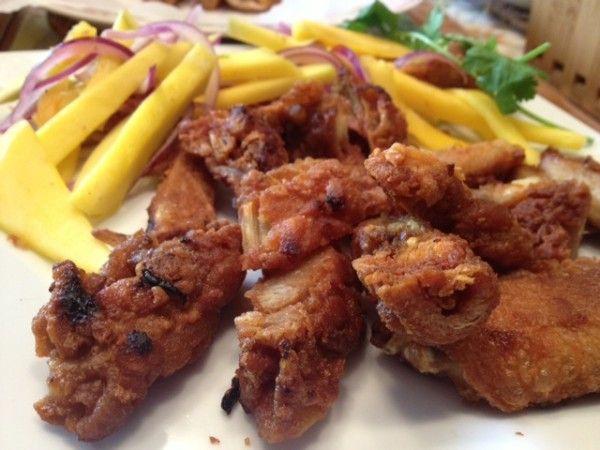 Mango Fried Chicken
