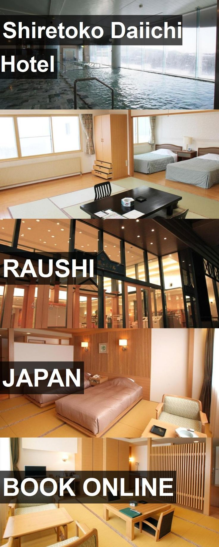 Shiretoko Daiichi Hotel in Raushi, Japan. For more information, photos, reviews and best prices please follow the link. #Japan #Raushi #travel #vacation #hotel