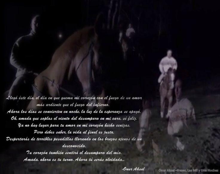 Las Frases de Onur Aksal -Las Mil y Una Noches