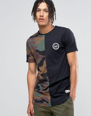 Camiseta de camuflaje de Hype