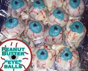 "30daysof...blog: Peanut Butter ""eye""ball Recipe - My favorite treat 2010"