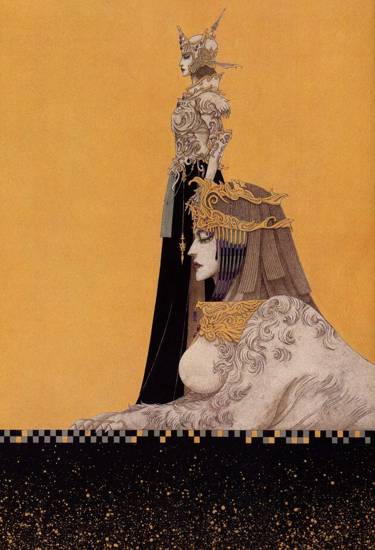 Toshiaki Kato: Lady Sphinx [not cleopatra]