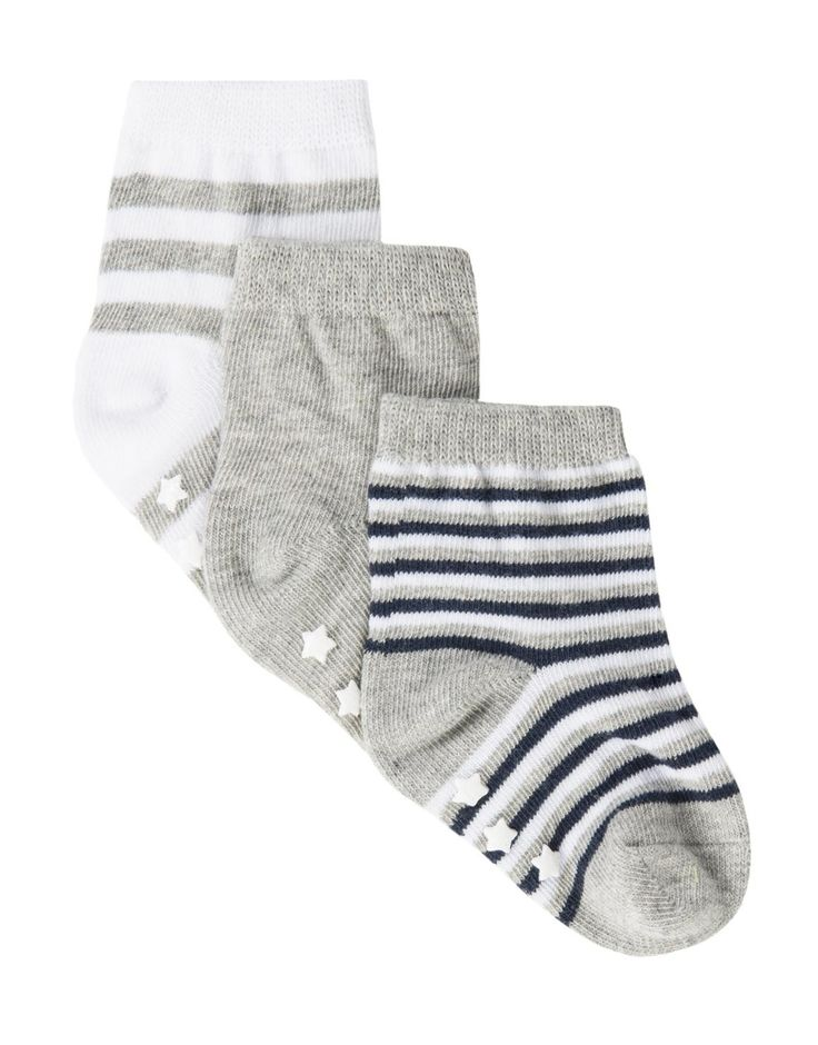 Cotton Rich Socks 3-Pack