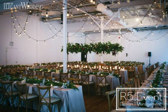 String Lighting for a beautiful wedding- by R5 Event Design!