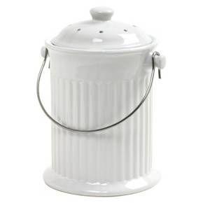 Norpro Ceramic Compost Keeper - White 4 Quart : Target