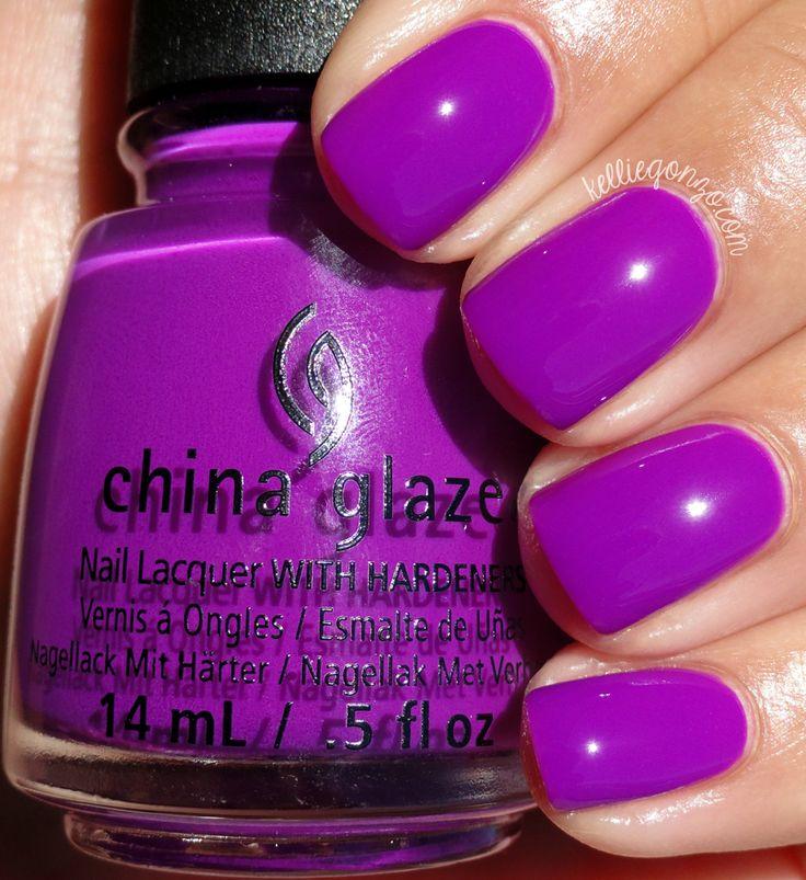 China Glaze Violet-Vibes // kelliegonzo.com