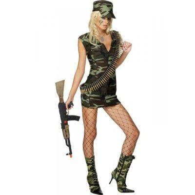 disfraces de militar mujer