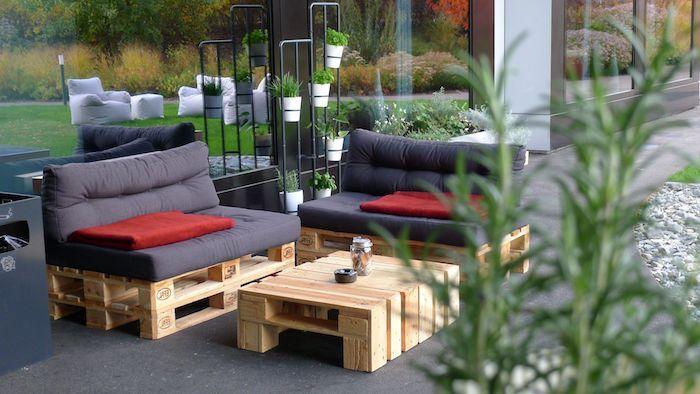 1001 Idees Pour Creer Un Beau Salon De Jardin En Palette Salon De Jardin Palettes Palette Jardin Meuble Jardin