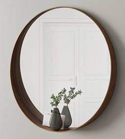 Deze spiegel komt er! Walnoot ikea Stockholm mirror /// plant