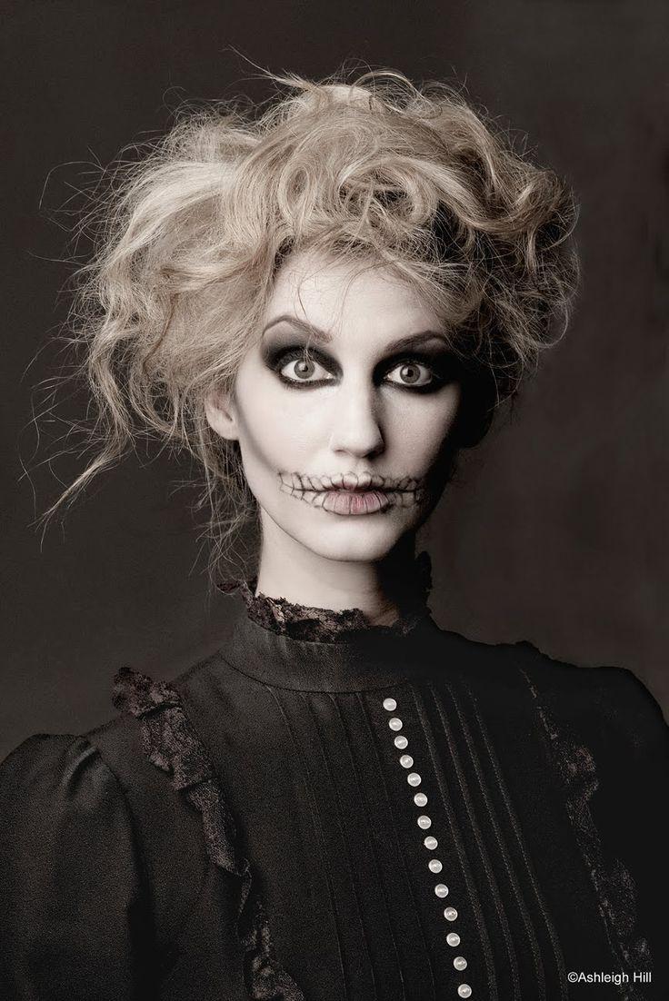 subtle skeleton makeup