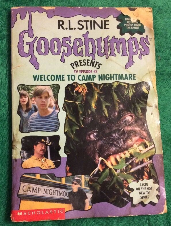 1996 Welcome To Camp Nightmare R. L. Stine Paperback Book Goosebumps Episode #3    eBay