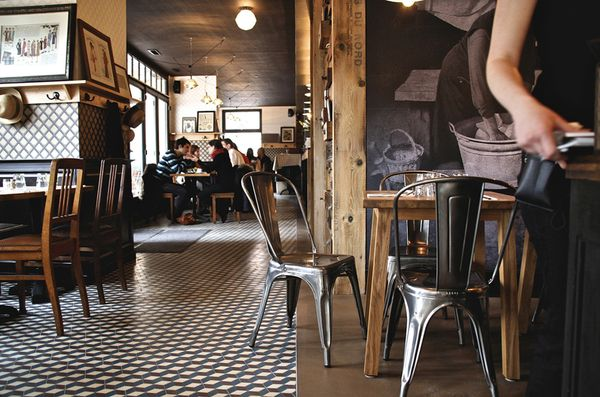 French Cafe Interior | Interior Design Showcase  A French Caf and  Restaurant | Lights ... | cafe | Pinterest | Cafes, French cafe and  Restaurants
