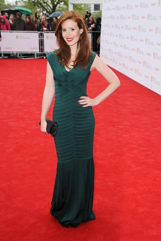 AMY NUTTALL- BAFTAS 2013