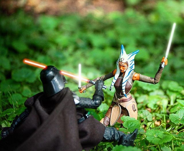15 Amazing Ahsoka Tano Black Series Figure Photo Shoots - https://teamahsoka.wordpress.com/2016/05/12/15-amazing-ahsoka-tano-black-series-figure-photo-shoots/